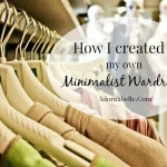 How I Created My Own Minimalist Wardrobe