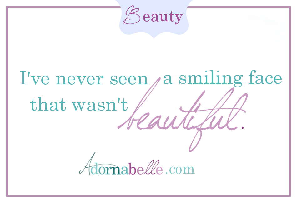 Smiles are Beautiful