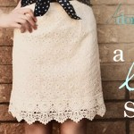 Four Ways to Style a Lace Skirt