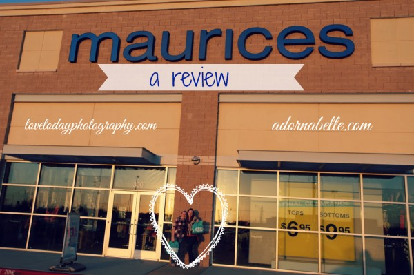 maurices review graphic