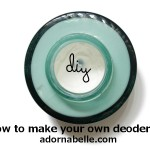 DiY: How to Make your Own Deodorant