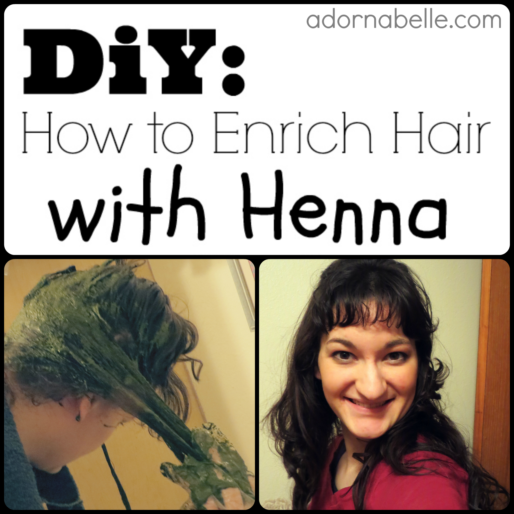DiY: How to Enrich Your Hair with Henna