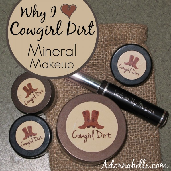 Why I Love Cowgirl Dirt Mineral Makeup #giveaway