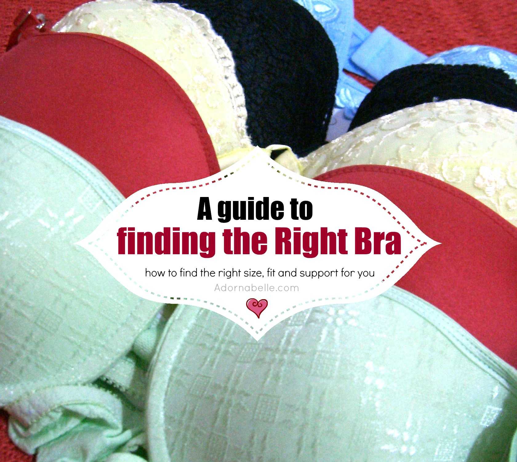 How to Find a Bra that Fits